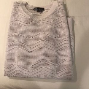 VINCE White Sweater